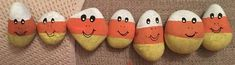 It's candy corn time. (09/2021) Kindness Rocks, Paint Pens, Candy Corn, Painted Rocks, Concept, Rock Painting, Artist, Crafts, Free