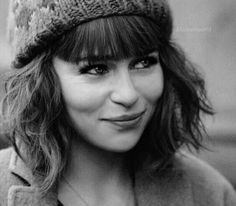 She's so cute with bangs!