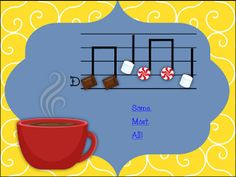 My Musical Menagerie: Kodály and Orff Classroom: Cup of Cocoa Solfege and Rhythm Game for So-Mi, So-Mi-La, and Mi-Re-Do