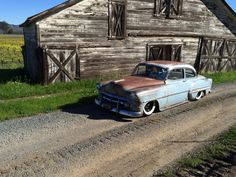 1954 Chevy Bel Air, Chevrolet Bel Air, Weathered Paint, Lead Sled, Architecture Old, American Muscle Cars, Old Skool, Old Trucks, Impala