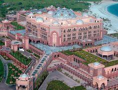 Abu Dhabi from sky..