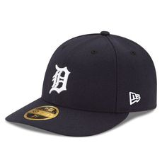 d867a85712d Detroit Tigers New Era Authentic Collection On Field Low Profile Home  59FIFTY Fitted Hat - Navy. Detroit Tigers Baseball