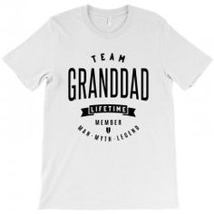 f7f92889 Custom Granddadd Tees T-shirt By Chris Ceconello - Artistshot Grandparents,  Dads, Grandmothers