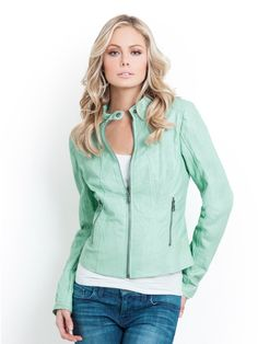 GUESS Sophia Faux-Leather Jacket