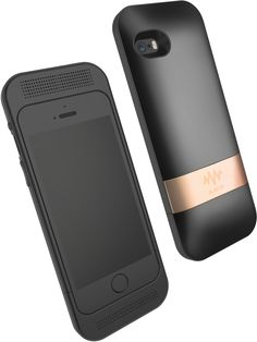 Amp - iPhone case with speakers, DAC, noise cancellation, and extended battery.