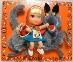 Litte Red Riding Hood kiddle - wish I still had mine. I loved the wolf!