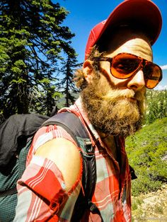 Step One: Get a cool pair of shades and grow an epic trail beard! (my note: Step 2 is not appropriate to discuss with children)