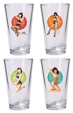 Kitsch Bettie Page Pin-Up glasses
