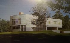 Robert Venturi i John Rauch, 1970-1973, dom Brantów w Greenwich, Connecticut
