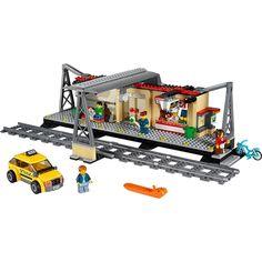 Buy Lego City Train Games Building Toys For 12 Year Olds Boys Girls Station at online store Lego Train Station, Lego City Train, Train Map, Lego Trains, Train Platform, Train Service, U Bahn, Buy Lego, Lego Group