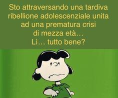 Lucy Van Pelt, Italian Humor, Comics, My Love, Funny, Happy, Peanuts, Minions, Life