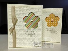 Sweet Escape for Stamping:   Embossed card