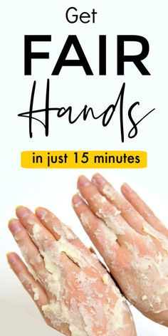 This Skin Whitening Mask Works Better Than Manicure, Just 15 Minutes And Get Fair Hands #skinlightening #skinwhiteningtips #skinwhiteningmask  #fairskin #fairhands  #skinwhiteningdiy #selfcaretips  #diymanicure #selfcare #selfcarebeautytips #ClayFaceMask