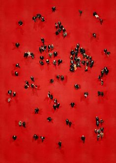 """What people do when they pose on the red carpet..."" photo by Katrin Korfman"