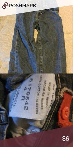 Boys size 4 wrangler jeans Boys size 4 wrangler jeans Wrangler Jeans Straight Leg