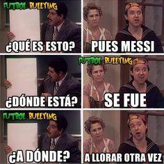 Sin piedad, los memes hacen de las suyas con Lionel Messi y Argentina.