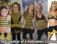 THE EVOLUTION OF A HALLOWEEN COSTUME