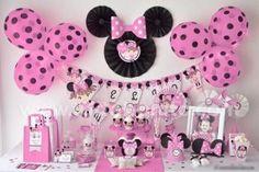 Decoracionn Para Baby Shower De Minnie Mouse