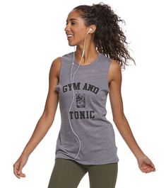 Sub_Urban Riot Gym & Tonic Muscle Tee at YogaOutlet.com