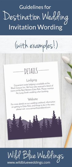 Need some help figuring out what to include in your destination wedding invitation? Check out this post to see all the essentials you need to include, plus destination wedding invitation wording examples! Wedding Invitation Wording Examples, Destination Wedding Invitations, Unique Wedding Invitations, Destination Weddings, Invites, Invitation Suite, Invitation Ideas, Invitation Design, Wedding Weekend