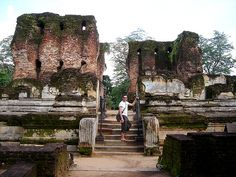 In Polonnaruwa by Dan & Luiza from TravelPlusStyle.com, via Flickr