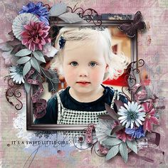 Live In The Moment by Ilonka's Scrapbook Designs  # Artsy Blends 4 by Angelclaud Artroom