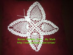 My friend wanted a crochet butterfly ♥LMY-MRS♥ so I made her one!