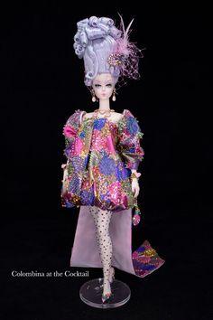 Pink Barbie, Barbie Dolls, Carnivals, Beautiful Dolls, Fashion Dolls, Doll Clothes, Harajuku, Custom Design, Glamour