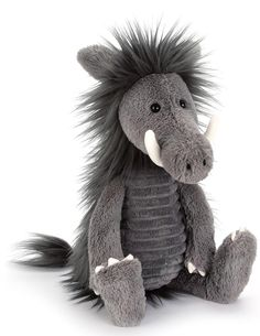 Snagglebaggle Walter Warthog by Jellycat from The Bear Garden