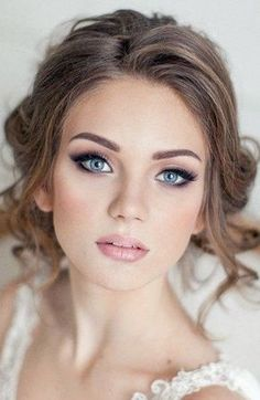 Wedding Makeup + Blush + Glossy Lips + Luxe Liner
