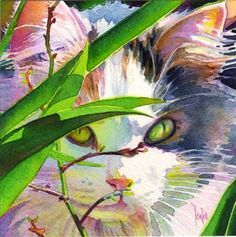 Sophie , by Tracy Lewis, I love the use of soft pastel colors in the fur and ears. Lovely