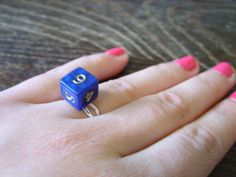 Miniature dice ring adjustable ring dungeons and by MageStudio Adjustable Ring, Dice, Miniatures, Trending Outfits, Unique Jewelry, Handmade Gifts, Rings, Vintage, Etsy