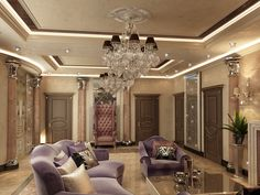 Mansion interior has the style of Art Deco, filled with luxurious and ornate design elements, making it just gorgeous. The festive mood is created by the light and the plenty abundance of crystal. True connoisseurs of luxury in this house will feel at ease. To see the project, please click here http://antonovich-design.com.ua/dizain-portfolio/doma/apartamenty-69