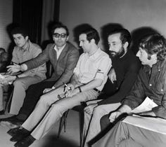 Claude Lelouch, Jean-Luc Godard, Francois Truffaut, Louis Malle e Roman Polanski