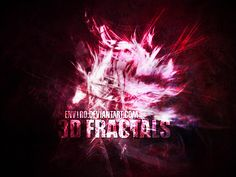 3D Fractals by ~env1ro on deviantART