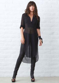 Caftan Dress, Sheer Dress, Boho Dress, Black Tunic Dress, Tunic Dresses, Apron Dress, Black Maxi, Look Fashion, Fashion Outfits