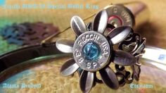 My favorite ring!   38 Special Bullet ring Adjustable Bullet Ring by FairyGlowLantern, $28.95