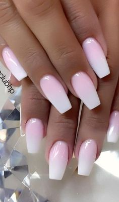 Cute and beauty ombre nail design ideas for this year 2020 - Trend Spring Nails Coffin 2019 Best Acrylic Nails, Summer Acrylic Nails, Spring Nails, Summer Nails, Ombre Nail Designs, Nail Designs Spring, Acrylic Nail Designs, Nail Art Designs, Trendy Nails