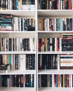 """lunarlibrary: """" I was worried that after I arranged my books by height I wouldn't be happy with it, but it's become my favorite arranging method yet! How do you arrange your books? I Love Books, Books To Read, My Books, Bookshelf Inspiration, Home Libraries, Book Aesthetic, Shelfie, Book Nooks, Book Of Life"""