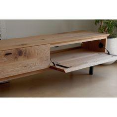 Wood Crafts Furniture, Teak Furniture, Cabinet Furniture, Modern Furniture, Furniture Design, Tv Set Design, Muebles Living, Tv Wall Decor, Diy Tv Stand