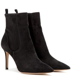 Bennett black suede ankle boots
