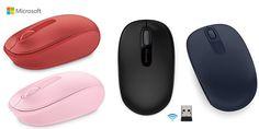 ¡Chollo! Ratón Microsoft Wireless Mobile Mouse 1850 por 9.90 euros. Varios colores.