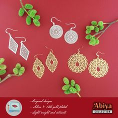 Shop Peta approved vegan brand LAVISHY's fun fashion accessories including bags, wallets, coin purses, travel accessories and beauty accessories. Filigree Earrings, Pendant Earrings, Travel Accessories, Fashion Accessories, Custom Jewelry, Jewelry Collection, Cool Style, Crochet Earrings, Coin Purse