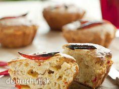 Pikantné cupcakes