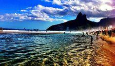 Praias Ipanema, Leblon, Rio de Janeiro, Brazil, Brasil