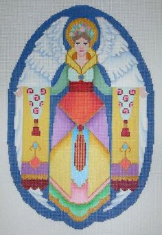 Brenda Sofft nativity - stitch guide by the Stitching in the Texas Country / the Needle Works