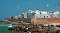 """The most memorable thing about #Essaouira (pronounced """"essa weera"""") is the one thing you can't see. Behind this western Morocco city's 18th-c..."""