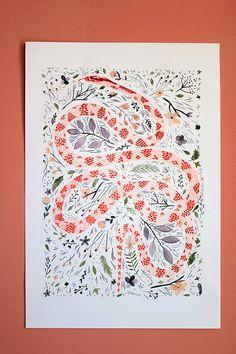 The Snake by Celine Loup