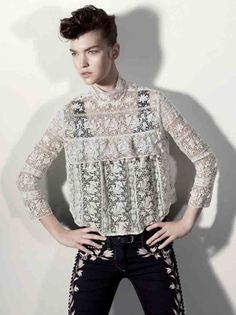 lace + embroidery / isabel marant