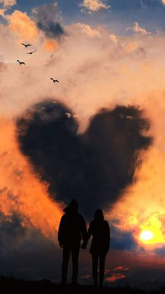 Sky of love wallpaper iphone Sky of love Mobile Wallpaper, Wallpaper Iphone Quotes Backgrounds, Wallpaper Iphone Cute, Cellphone Wallpaper, Aesthetic Iphone Wallpaper, Aesthetic Wallpapers, Cute Wallpapers, Couple Wallpaper Relationships, Love Couple Wallpaper